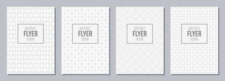Σύνολο ιπτάμενου, αφίσες, εμβλήματα, αφίσσες, templa σχεδίου φυλλάδιων Στοκ εικόνα με δικαίωμα ελεύθερης χρήσης