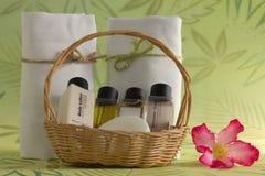 Σύνολο και πετσέτα λουτρών Στοκ Εικόνες