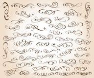 Σύνολο κομψών διακοσμητικών στοιχείων κυλίνδρων επίσης corel σύρετε το διάνυσμα απεικόνισης διανυσματική απεικόνιση