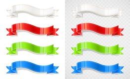 Σύνολο κορδέλλας χρώματος Ταινία διακοσμήσεων απεικόνιση αποθεμάτων