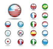 σύνολο κουμπιών Στοκ εικόνες με δικαίωμα ελεύθερης χρήσης