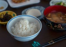 Σύνολο μεσημεριανού γεύματος ιαπωνικής κουζίνας σε Yamagata Στοκ Εικόνες