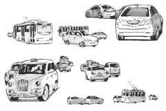 Σύνολο μηχανών σκίτσων Στοκ φωτογραφία με δικαίωμα ελεύθερης χρήσης