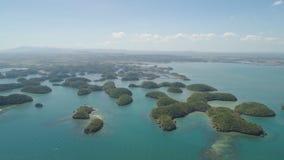 Σύνολο νησιών στη θάλασσα Φιλιππίνες Στοκ Φωτογραφία