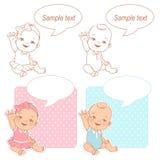 Σύνολο ντους μωρών ελεύθερη απεικόνιση δικαιώματος