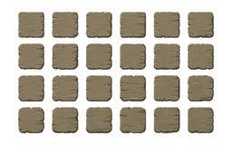 Σύνολο ξύλινων επιτροπών στοκ φωτογραφία με δικαίωμα ελεύθερης χρήσης