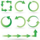 σύνολο οικολογίας κύκ&lam στοκ εικόνα με δικαίωμα ελεύθερης χρήσης