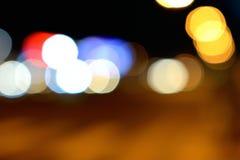 Σύνολο ομορφιάς υποβάθρου φωτισμού Bokeh Στοκ φωτογραφία με δικαίωμα ελεύθερης χρήσης