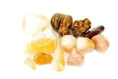 Σύνολο πετρών πολύτιμων λίθων Στοκ Εικόνες