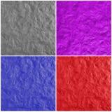 Σύνολο πολυ χρωματισμένων υποβάθρων με τα δακτυλικά αποτυπώματα Στοκ φωτογραφία με δικαίωμα ελεύθερης χρήσης
