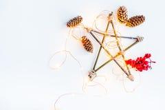 Σύνολο πραγμάτων Χριστουγέννων Στοκ Φωτογραφία