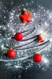 Σύνολο πραγμάτων Χριστουγέννων Στοκ Φωτογραφίες