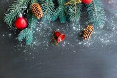 Σύνολο πραγμάτων Χριστουγέννων Στοκ φωτογραφία με δικαίωμα ελεύθερης χρήσης