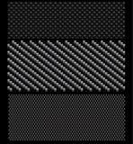 σύνολο προτύπων άνθρακα Στοκ φωτογραφία με δικαίωμα ελεύθερης χρήσης