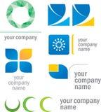 σύνολο πρωτοτύπων λογότυπων Στοκ φωτογραφία με δικαίωμα ελεύθερης χρήσης