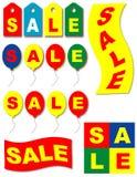 σύνολο πώλησης εικονιδί&om Στοκ εικόνες με δικαίωμα ελεύθερης χρήσης