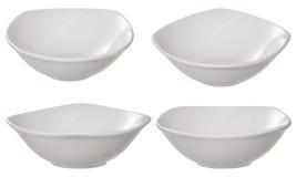 σύνολο σαλάτας πιάτων Στοκ εικόνα με δικαίωμα ελεύθερης χρήσης