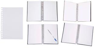 Σύνολο σημειωματάριων Στοκ φωτογραφία με δικαίωμα ελεύθερης χρήσης