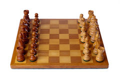 σύνολο σκακιού Στοκ εικόνα με δικαίωμα ελεύθερης χρήσης