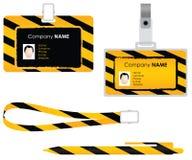 σύνολο ταυτότητας καρτών Στοκ φωτογραφίες με δικαίωμα ελεύθερης χρήσης