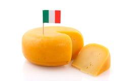 σύνολο της Ιταλίας τυριώ&nu Στοκ Εικόνα