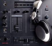 σύνολο του DJ Στοκ Εικόνες