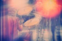 Σύνολο τυμπάνων, μουσική και έννοια ζωνών τζαζ Στοκ φωτογραφία με δικαίωμα ελεύθερης χρήσης