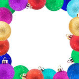 σύνολο Χριστουγέννων σφ&alph Στοκ Φωτογραφία