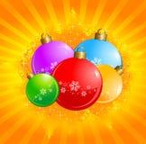 σύνολο Χριστουγέννων σφ&alph απεικόνιση αποθεμάτων