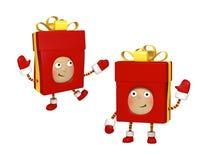 Σύνολο χριστουγεννιάτικου δώρου Στοκ εικόνες με δικαίωμα ελεύθερης χρήσης