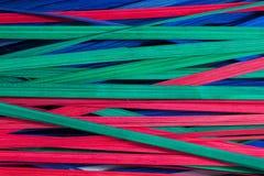 σύνολο χρώματος μπαμπού ανασκόπησης Στοκ φωτογραφίες με δικαίωμα ελεύθερης χρήσης