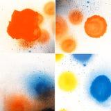 Σύνολο χρώματος ψεκασμού παραλλαγής Στοκ Εικόνες