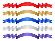 σύνολο χρώματος 9 εμβλημάτ&o διανυσματική απεικόνιση