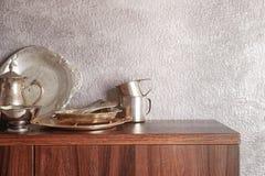 Σύνολο dinnerware στοκ φωτογραφία