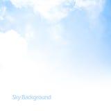 Σύνορα ανασκόπησης μπλε ουρανού Στοκ εικόνες με δικαίωμα ελεύθερης χρήσης