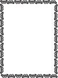 σύνορα διακοσμητικά Στοκ φωτογραφία με δικαίωμα ελεύθερης χρήσης