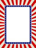 σύνορα πατριωτικά Στοκ εικόνα με δικαίωμα ελεύθερης χρήσης