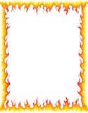 Σύνορα πυρκαγιάς Στοκ Εικόνα
