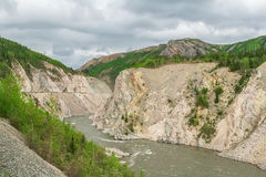 Σύνορα της Αλάσκας Στοκ εικόνα με δικαίωμα ελεύθερης χρήσης