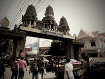 Σύνορα της Καμπότζης Στοκ Εικόνα