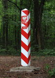 Σύνορα της Πολωνίας Στοκ εικόνες με δικαίωμα ελεύθερης χρήσης