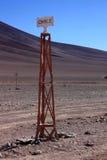 Σύνορα της Χιλής Στοκ φωτογραφία με δικαίωμα ελεύθερης χρήσης