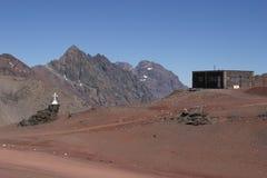 σύνορα Χιλή της Αργεντινής Στοκ Εικόνες