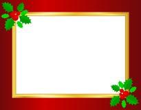 Σύνορα Χριστουγέννων διανυσματική απεικόνιση