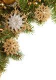 Σύνορα Χριστουγέννων στοκ εικόνα με δικαίωμα ελεύθερης χρήσης