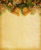 Σύνορα Χριστουγέννων. Στοκ Εικόνες