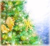 Σύνορα χριστουγεννιάτικων δέντρων Στοκ φωτογραφίες με δικαίωμα ελεύθερης χρήσης