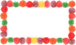 σύνορα lollipop Στοκ εικόνες με δικαίωμα ελεύθερης χρήσης