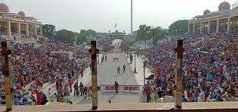 Σύνορα Wagha στοκ εικόνα με δικαίωμα ελεύθερης χρήσης