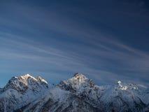 Σύνοδοι Κορυφής το χειμώνα Στοκ Φωτογραφίες